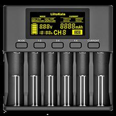 Зарядное устройство Liitokala Lii-S6 EU