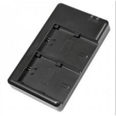 Двойное зарядное устройство Dual Digital для Canon LP-E6 (Micro USB)