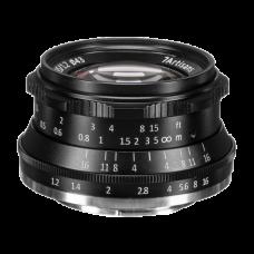 Объектив 7Artisans 35mm F1.2 X-Mount Чёрный
