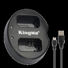 Зарядное устройство KingMa BM015 двойное для NP-W235