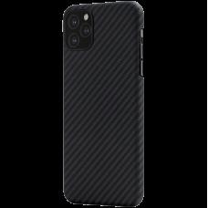 Чехол Pitaka MagEz для iPhone 12 Черный карбон