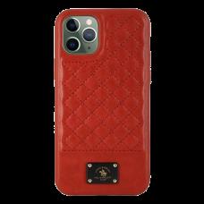 Чехол Santa Barbara Polo & Racquet Club Bradley для iPhone 11 Pro Красный