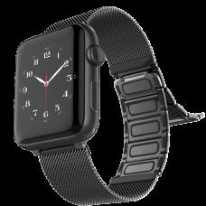 Браслет Raptic Classic Plus для Apple Watch 38/40мм Чёрный