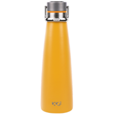 Термос Xiaomi KKF Smart Vacuum Bottle с OLED-дисплеем 475мл Жёлтый
