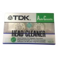 Чистящая аудиокассета TDK Head Cleaner HCL-11