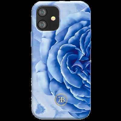 Чехол Kingxbar Peony для iPhone 12 Mini Синий