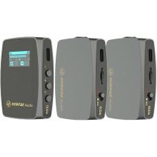 Радиосистема Mirfak Audio WE10 Pro (RX+2TX)