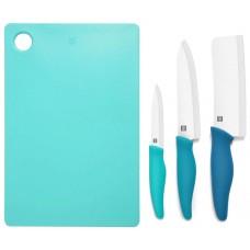 Керамические ножи Xiaomi HuoHou с разделочной доской